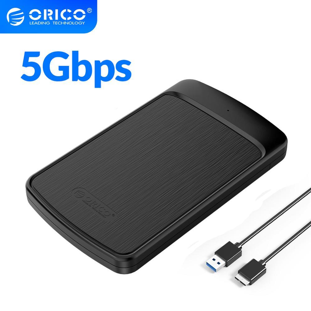ORICO HDD Case 2 5 SATA to USB 3 0 Hard Drive Enclosure for SSD Disk HDD Box HD Tool Free 4TB External HDD Enclosure Adapter