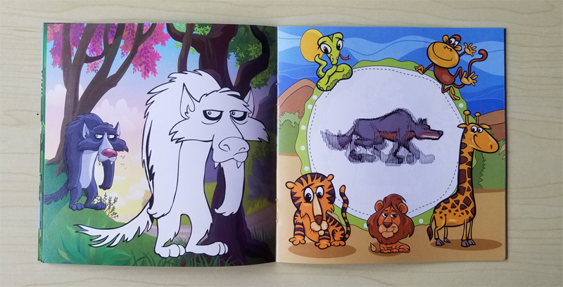 Best Price Cartoon Animal Coloring Diy Children S Puzzle Movable