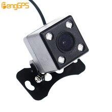 Водонепроницаемый 4 светодиодный видеорегистратор ночного видения, Автомобильная камера заднего вида, парковочная камера заднего вида для всех автомобилей, универсальная камера с широким углом обзора