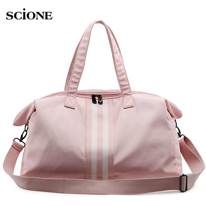 Gym Bag Women Travel Bags Training Fitness Dry Wet Bag Handbag Yoga Mat Men Shoulder Sac De Sport For Bolso Canvas 2019 XA766WA