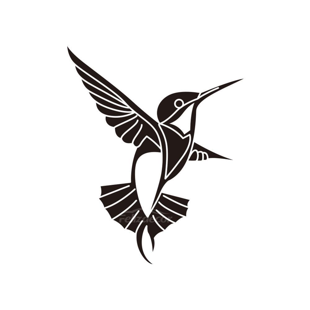 HUMMINGBIRD WALL DECAL WINDOW DECAL