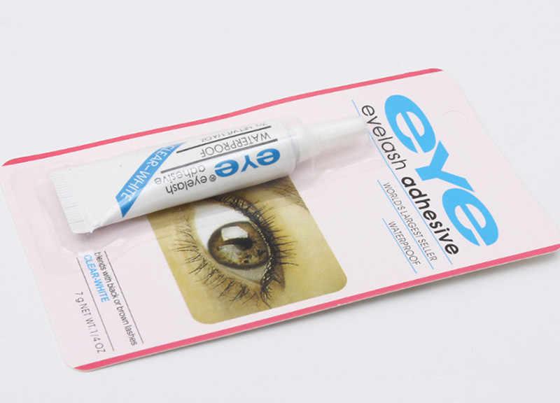 Profi Wimpern Kleber Klar-weiß/Dark-schwarz Wasserdicht Falsche Wimpern Makeup Kleber Wimpern Kleber Kosmetische Werkzeuge
