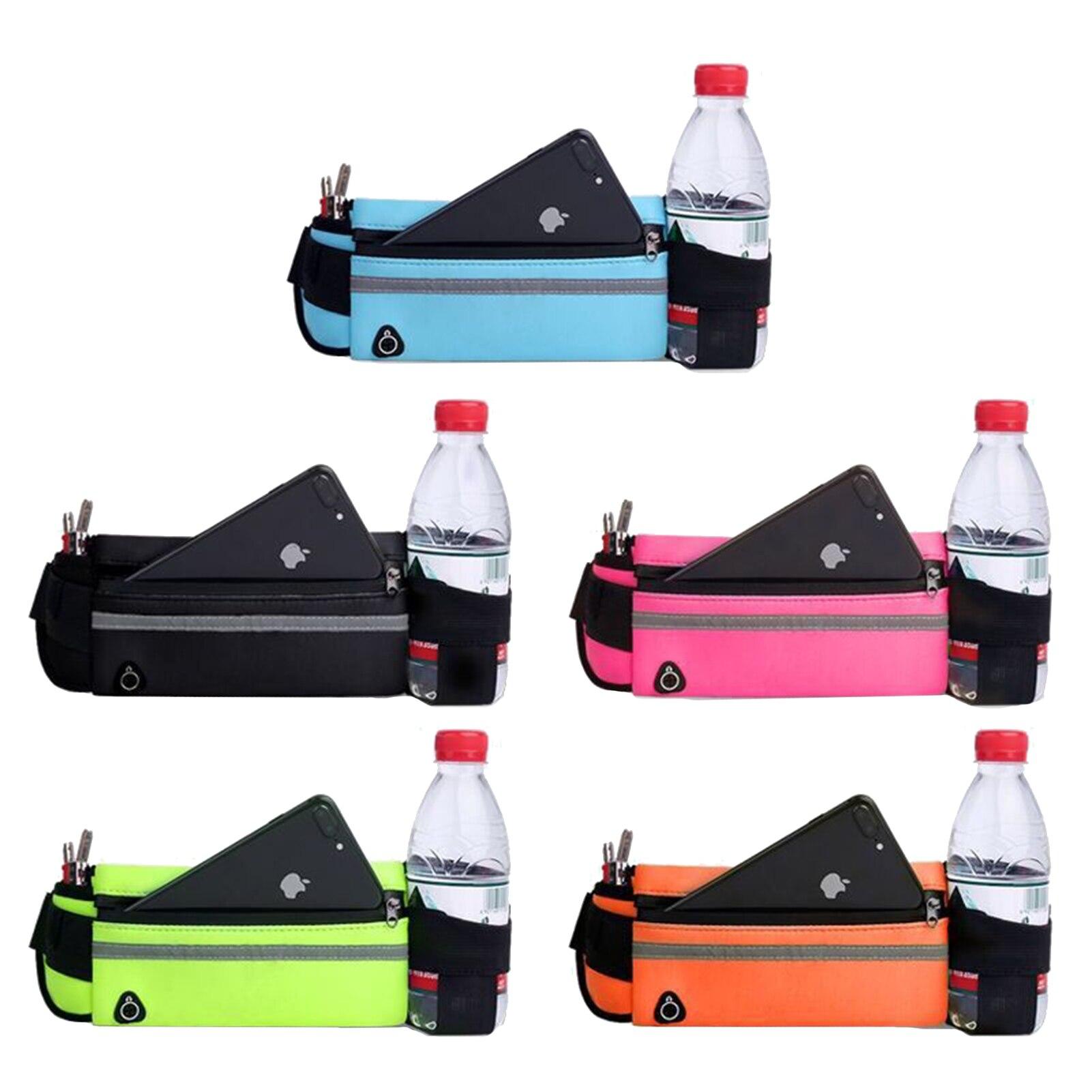 Поясная Сумка для бега, многофункциональная водонепроницаемая Спортивная карманная сумка, поясная сумка, нескользящие спортивные сумки дл...