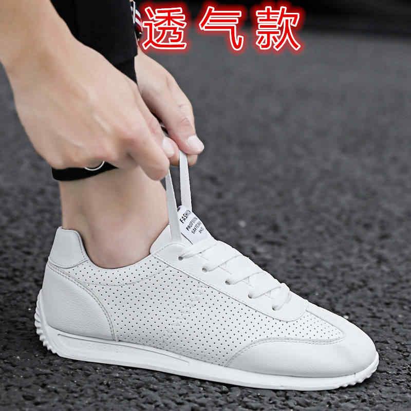 Marke Männer Schuhe Herbst Leder Schuhe Männer Männlichen Casual Atmungs Mode Turnschuhe Flache Fahr Schuhe Herren Mokassin Homme 2019 Neue