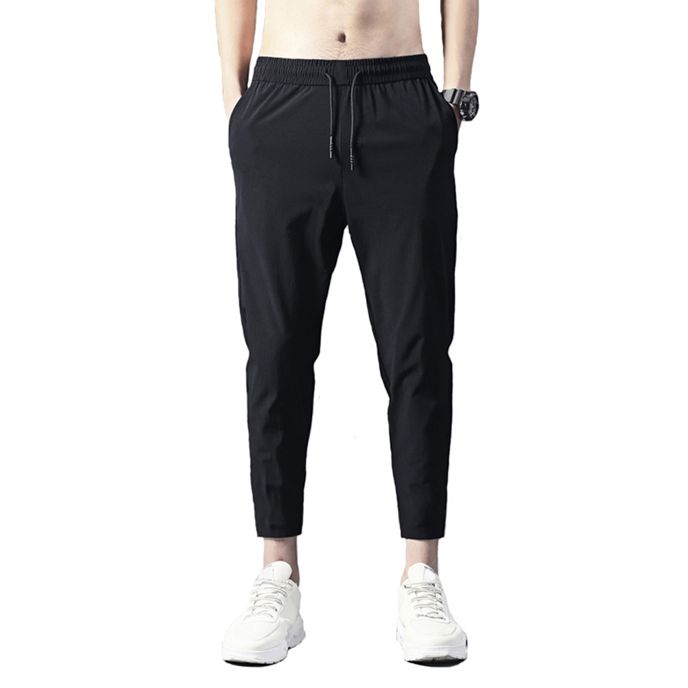 Men Jogger Casual Pants Lightweight Breathable Quick Dry Hiking Running Outdoor Sports Pants Comfort