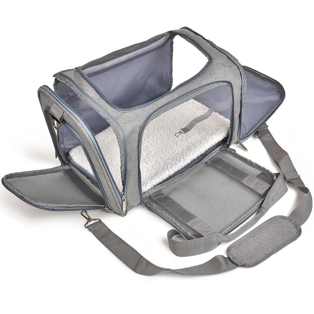 Сумка-переноска для собак, рюкзак для переноски кошек и маленьких собак, сумка для путешествий с поддержкой авиакомпании