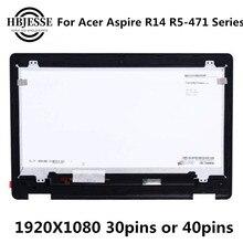 Original pour Acer Aspire R14 R5-471 R5-471T LCD assemblée écran d'ordinateur portable avec écran tactile numériseur écran tactile 1920X1080