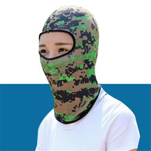40 PCS Balaclava HT003 Camouflage Windproof Biker Bandanas Sports Hat Outdoor Cycling UV-protective Face Mask