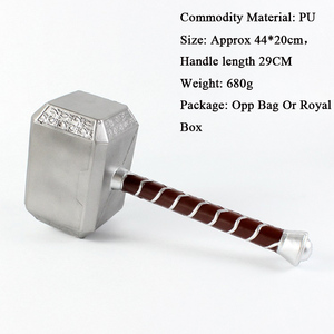 1:1 Thor Axe Hammer Cosplay Weapons Movie Role Playing Thor Thunder Hammer Axe Stormbreaker Halloween Party Props 73cm 44cm