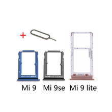 SIM Tray Adapter For XIAOMI Mi 9 Lite se 9se 9lite Original Phone Housing Chip M