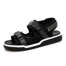 sandals and slippers cross-border cross-river shoes wading leisure Korean trend mens