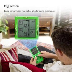 Image 4 - Retro Handheld Spiel Spieler Tetris Klassische Kindheit Spiel Elektronische Spiele Spielzeug Spiel Konsole Rätsel Pädagogisches Spielzeug Für Kind