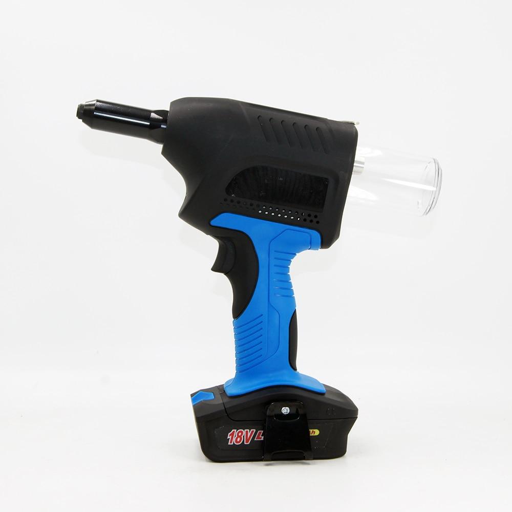SPT2280 18V Portable Cordless Electric Rivet Gun Rechargeable Riveter Lithium Battery Pull Rivet Nut Gun