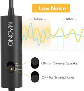 Image 4 - Микрофон MAONO, петличный конденсаторный микрофон с клипсой для камеры, DSLR, телефона, ПК, ноутбука