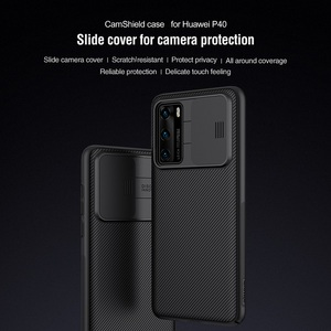 Image 3 - For Huawei P40 Case P40 5G Cover NILLKIN CamShield Case Slide Camera Protect Privacy Clean Back Cover for Huawei P40 Pro Case