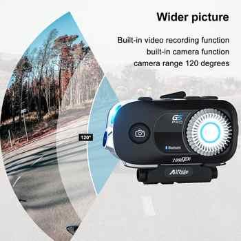 G5 Pro Motorcycle Helmet Intercom 1080P Video Wifi Recorder Camera Moto Helmet Headset Bluetooth Group BT Interphone - DISCOUNT ITEM  20% OFF All Category