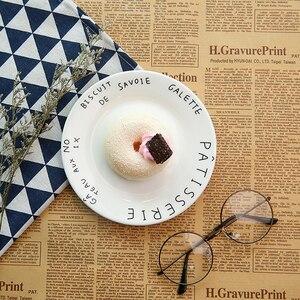 Image 3 - 4 pièces Nostalgique Journal Anglais Vintage Style Photographie Fond Tampons Photo Décors Accessoires Parure pour la Nourriture