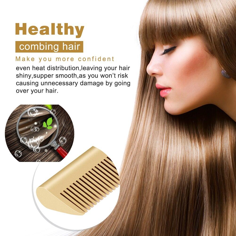 de cabelo ondulação escova de cabelo em casa