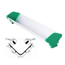 4-20inch Dual Edge Aluminum Emulsion Scoop Coater for Silk Screen Printing V Shape Coating Tools
