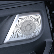 For Mercedes-Benz V260 Vito Car Door Loudspeaker Sound Speaker Cover Car Styling Audio Speaker Door Loudspeaker Trim Cover 2 pcs 35mm 75mm audio speaker woofer loudspeaker dome pp dust cap cone cover