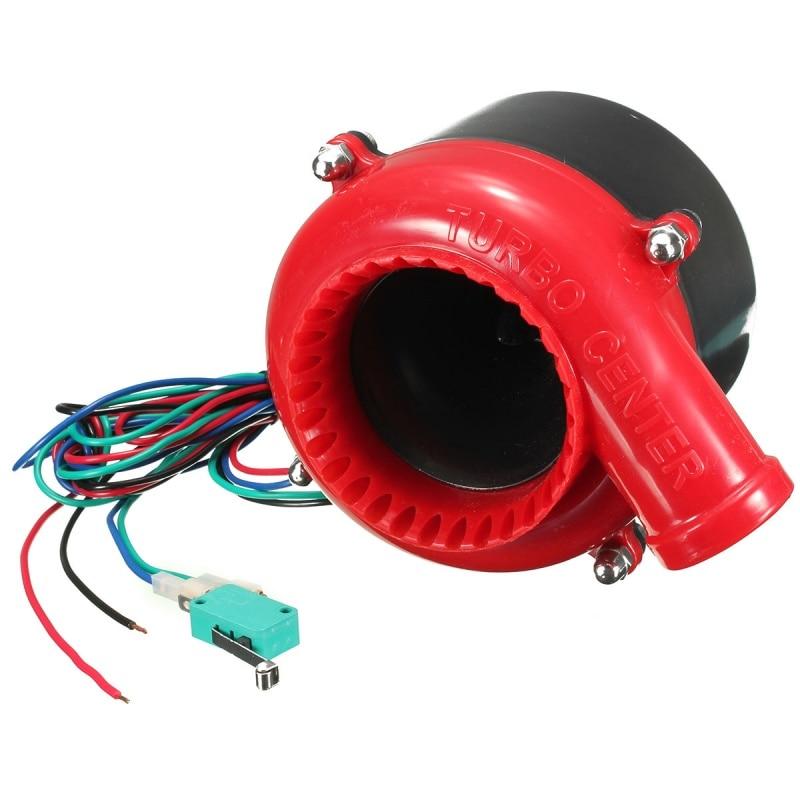 Электронный турбо предохранительный клапан выдув автомобиля поддельный клапан сброса аналоговый звук BOV