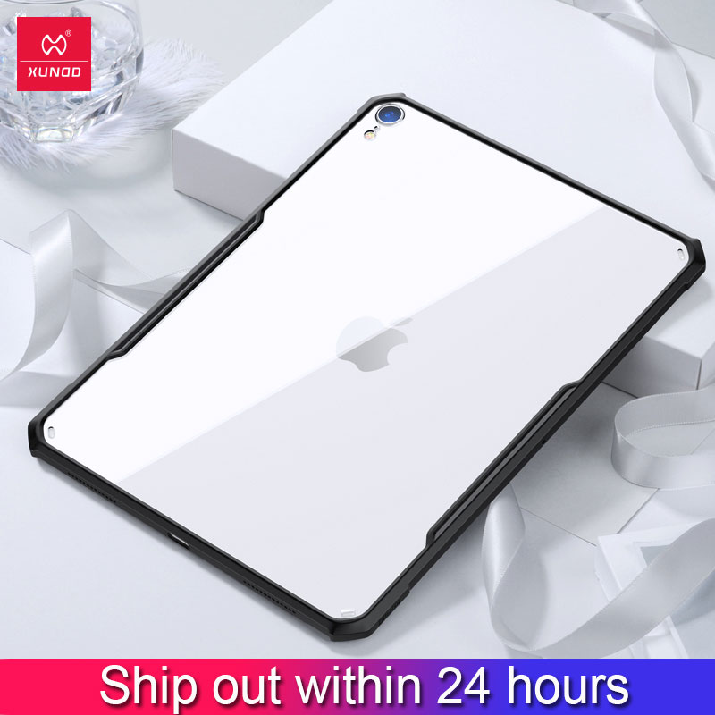 XUNDD Protective tablet Case for new iPad Pro 11 12.9 9.7 10.2 10.5 inch 2017 2018 mini 12345 air2 with airbags Shockproof Cases title=