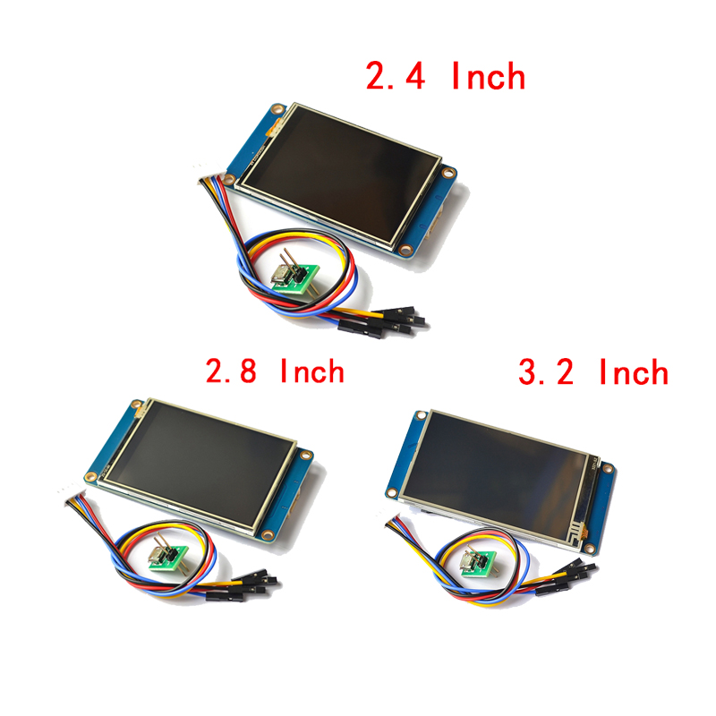 Nextion NX3224T024 028 032 2.4 2.8 3.2 inch man-machine interface HMI kernel Touch Screen TFT LCD Module Display Panel