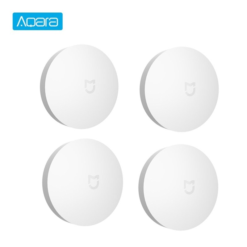 Aqara Mijia Wireless Switch Smart Bluetooth Zigbee Connection Switch Intelligent Home Security Equipment Work With Mi Home APP