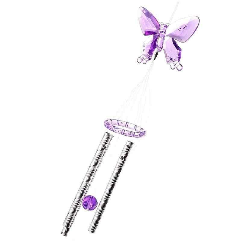 Zmiana koloru LED zasilany energią słoneczną Hummingbird dzwonek wietrzny światło stoczni wystrój ogrodu!