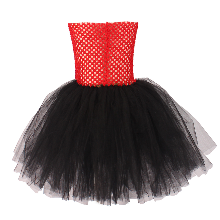 Girls Ringmaster Costume Circus Nutcracker Fancy Tutu Dress Kids Tulle Birthday Party Dress Girl Halloween Dress Up Clothes (1)