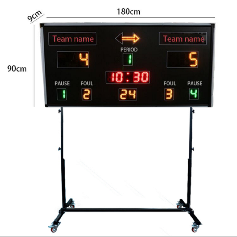 Scoreboard In Basketball In Led GANXIN Electronic Scoreboard Competition High Quality Promotion In December