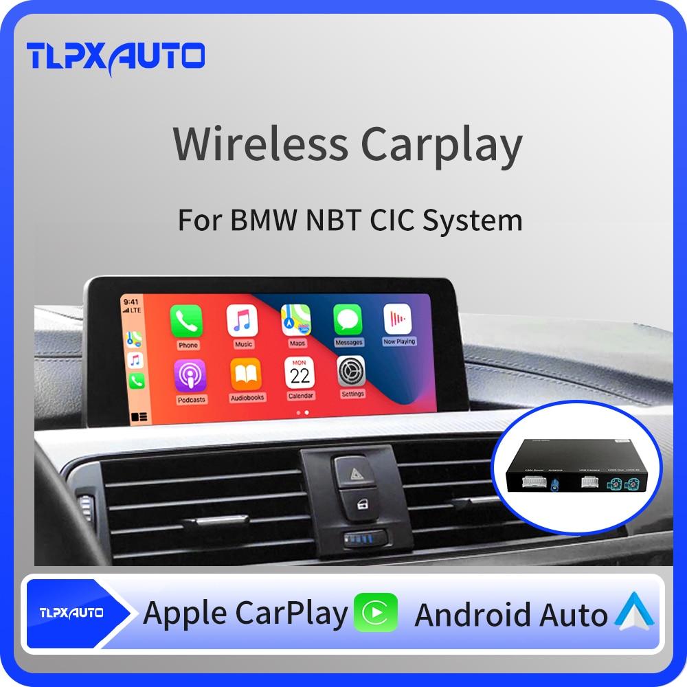 Wi-Fi беспроводной Apple Carplay Box Android авто для BMW NBT системы 1 2 3 4 5 7 серии X3 X4 X5 X6 MINI F10 F15 F16 F30