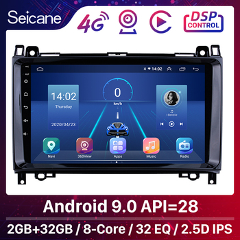 Seicane 8-core Android 9.0Car Multimedia Player GPS Stereo For Mercedes Benz B W245 B150/Sprinter 211 CDI 309/ A Class W169 A150 image