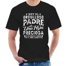 Camiseta De manga corta para hombre, camisa De Padre De Una Hija bonita, Si La moda, lloro, Yo, LIBE, A Ti @ 098854