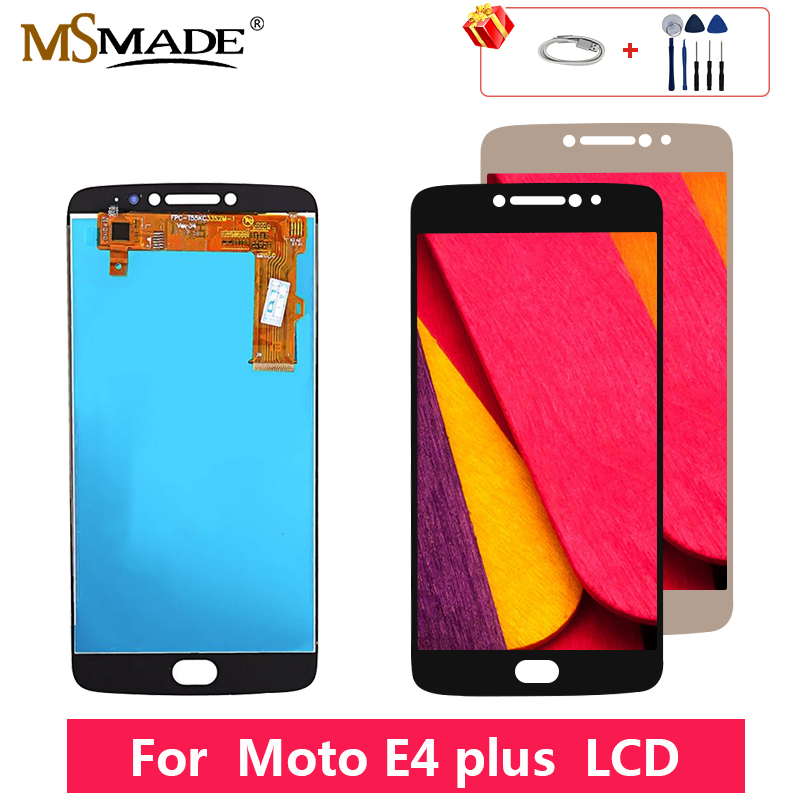 AAA Quality For Motorola <font><b>Moto</b></font> <font><b>E4</b></font> <font><b>Plus</b></font> XT1770 XT1771 <font><b>XT1772</b></font> XT1773 LCD Touch Screen Digitizer Display Replacement Assembly Parts image