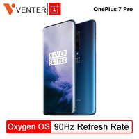 """Lager Globale ROM Oneplus 7 Pro Handy 12GB 256GB Snapdragon 855 6,67 """"90 GHz 2K bildschirm 48MP Triple Cam NFC Android 9"""
