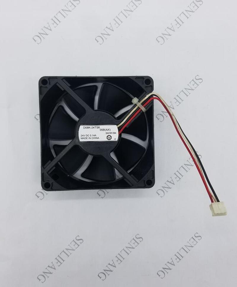 Original D08K-24TS6 04B 8025 24V Axial Cooling Fan