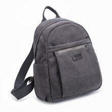 Fashion Canvas Backpack Women Teenage Girls Backpacks Large School Bag Vintage Students Travel Rucksack Shoulder Bags Black