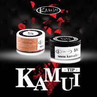 Japonés Original importación KAMUI puntas taco billar KAMUI punta 14mm SS/S/M/H directo punta marrón 11mm M/MH de billar accesorio