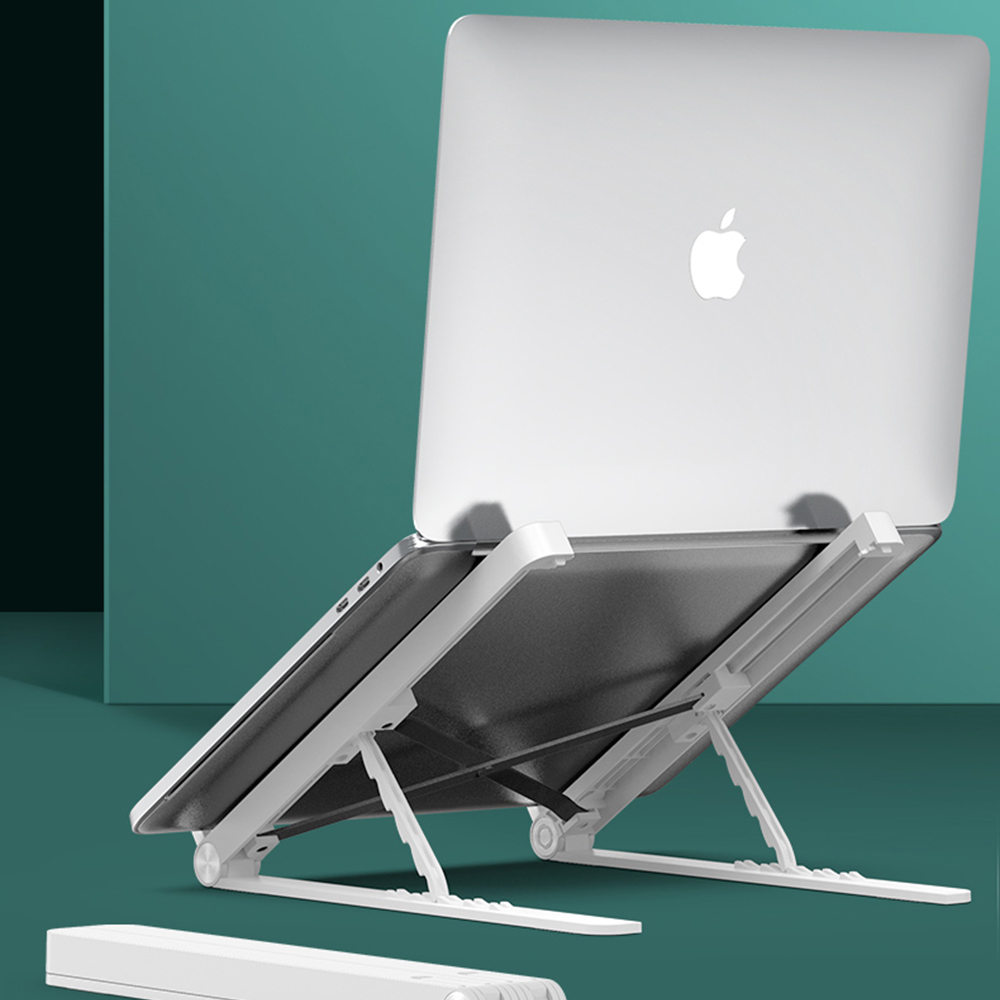 Laptop Stand For MacBook Pro Notebook Stand Foldable Plastic Silica Gel Tablet Stand Bracket Laptop Holder For Notebook