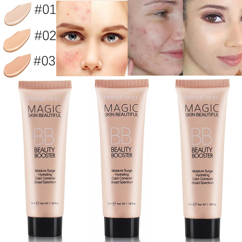2019 Hot Magic BB Cream Long Lasting Face Brighten Base Foundation Waterproof Concealer Moisturizing Whitening Make Up TSLM2