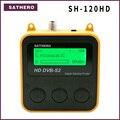 Sathero SH-120HD DVB-S2 высокой четкости цифровой спутниковый искатель портативный satelite Finder метров бесплатная спутниковые программы