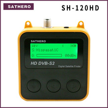 Sathero SH 120HD DVB S2 בחדות גבוהה דיגיטלי לווין Finder נייד לווין finder מטר משלוח ישב תוכניות