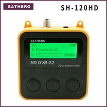 Sathero SH 120HD DVB S2 yüksek çözünürlüklü dijital uydu bulucu taşınabilir uydu bulucu metre ücretsiz sat programları
