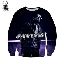 Kanye West hoodies off white men's hoodie winter 3D print An