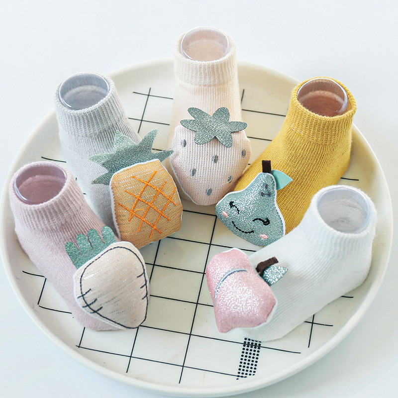 Baby Socks Newborn Anti Slip 3D Cartoon Cute Baby Socks For Girls Spring Toddler Cotton Baby Boys Floor Socks 2020 New Arrival