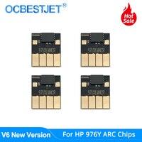 Chip De ARCO Para HP 976Y HP976 976 Y Chip Do Cartucho de Tinta Para HP PageWide Pro 552DW 552DN 577DW 577Z P55250DW MFP Impressora P57750DW|Chip do cartucho| |  -