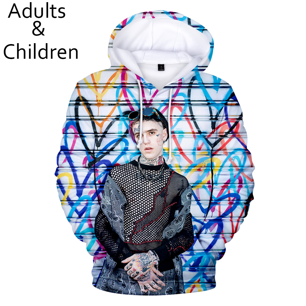 Popular 3D Lil Peep Fashion Men Women Hoodies Children Autumn And Winter Comfortable Pullover Kids Casual Sweatshirt