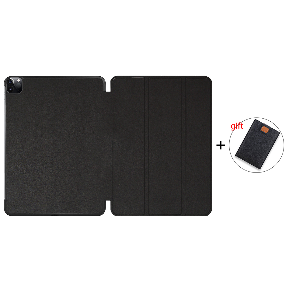 Black Gold MTT 2020 Case For iPad Pro 12 9 3rd 4th Generation 2018 PU Leather Flip Stand