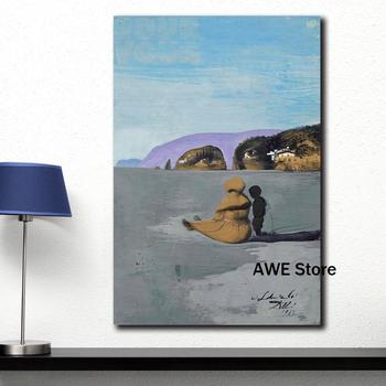 Modern Printed Canvas Painting Wall Art Salvador Dali Oil Painting Ladolescence Wall Pictures For Living Room Home Decor 3
